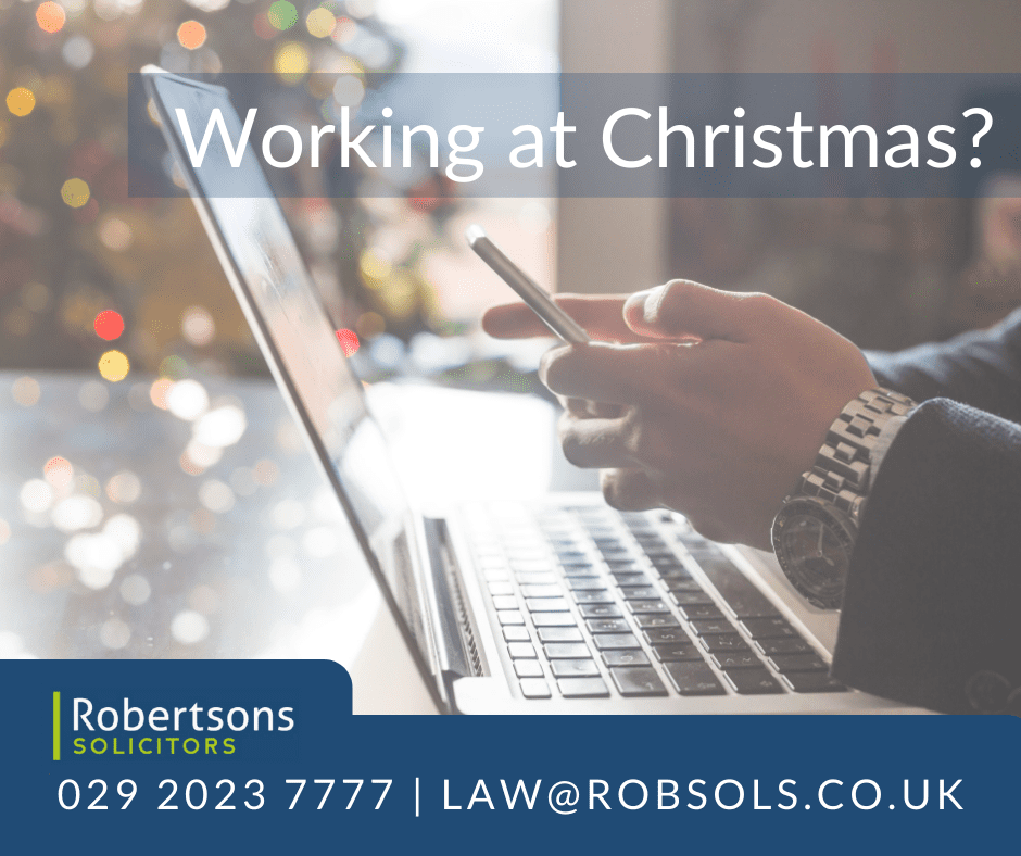 What can employers dictate when it comes to working at Christmas?