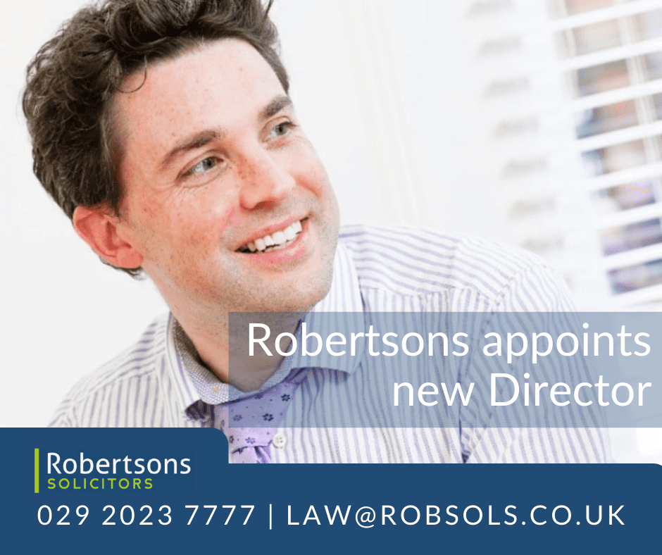 Robertsons Solicitors appoints new Director
