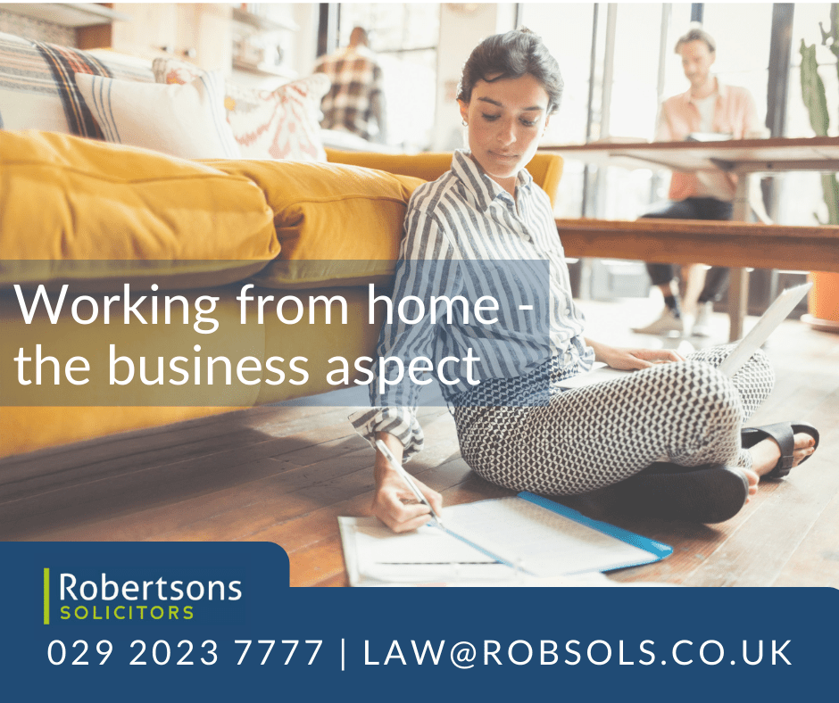 Working from home issues are not just about employment law.