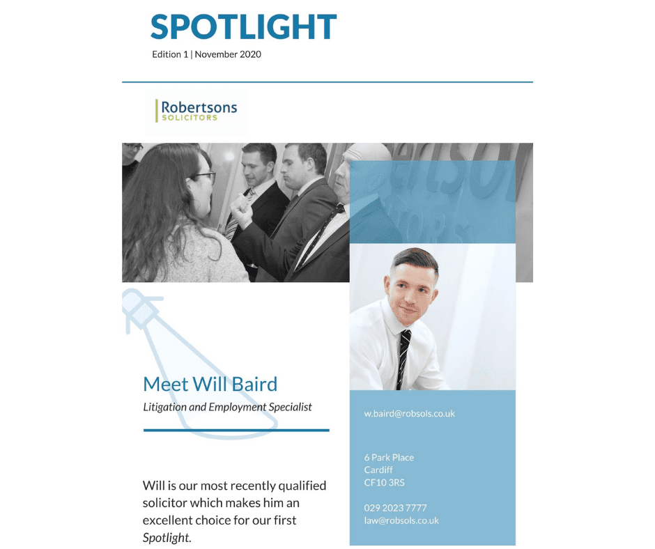 Spotlight: We talk to Litigation and Employment law specialist, Will Baird