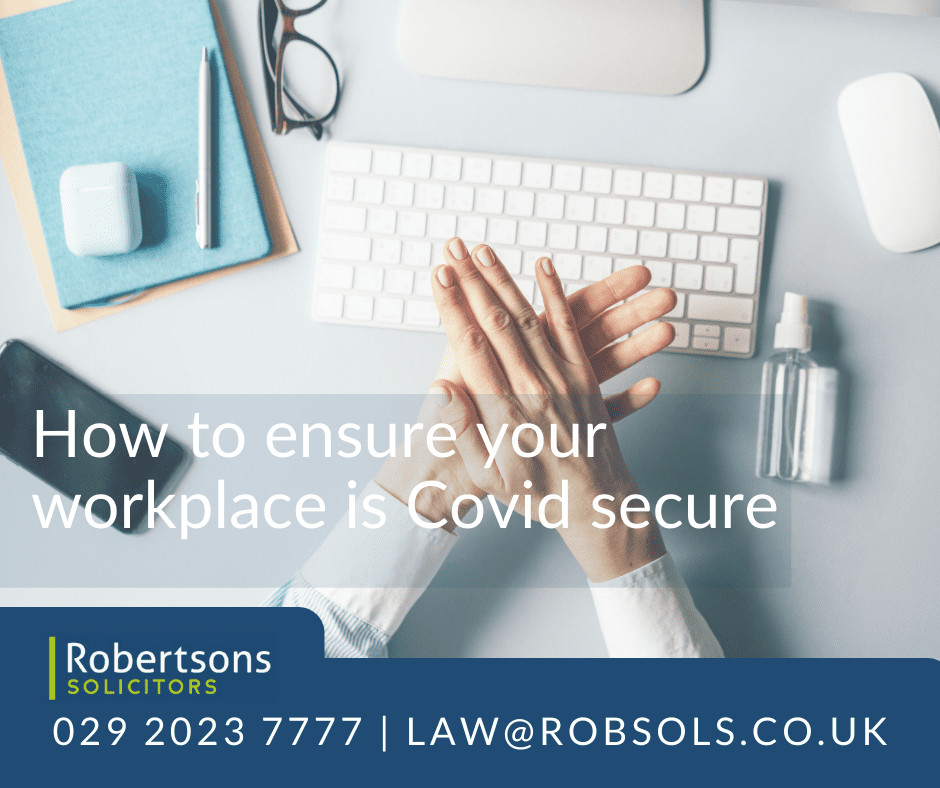 How to ensure your workplace is COVID secure