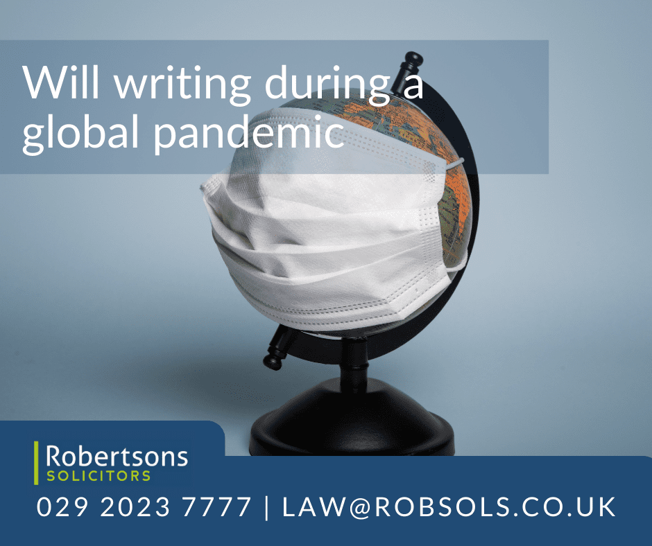 Writing a Will During a Global Pandemic