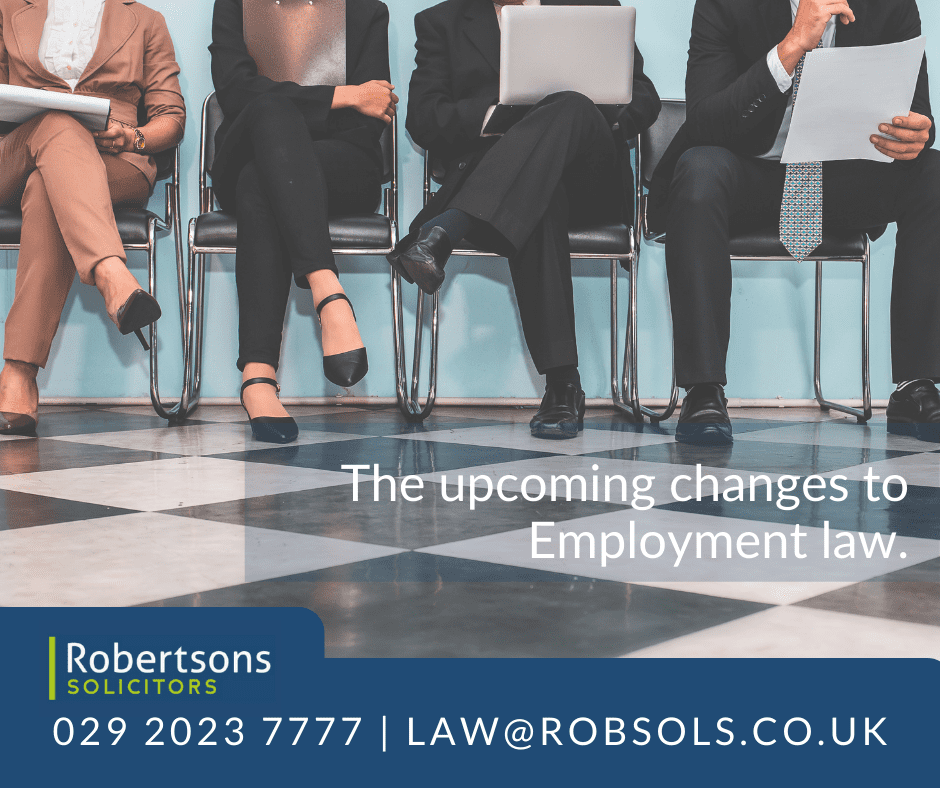 The upcoming changes to Employment law that you should know