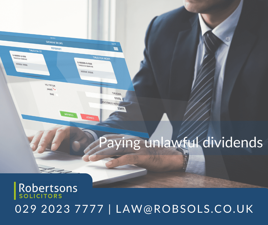 Paying Unlawful Dividends – What are the Legal Repercussions?